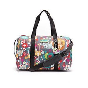 •Lily Bloom• Lily Zen Cityscape Overnight Duffle